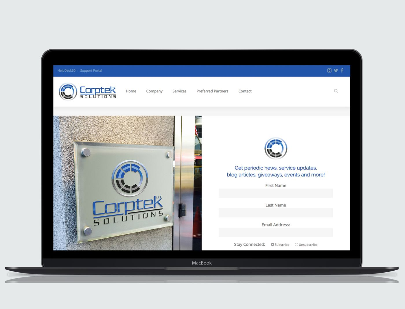 Corptek Solutions Web