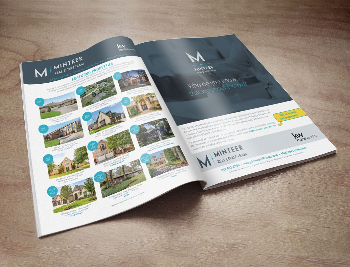 Minteer Team – Home By Design Ads