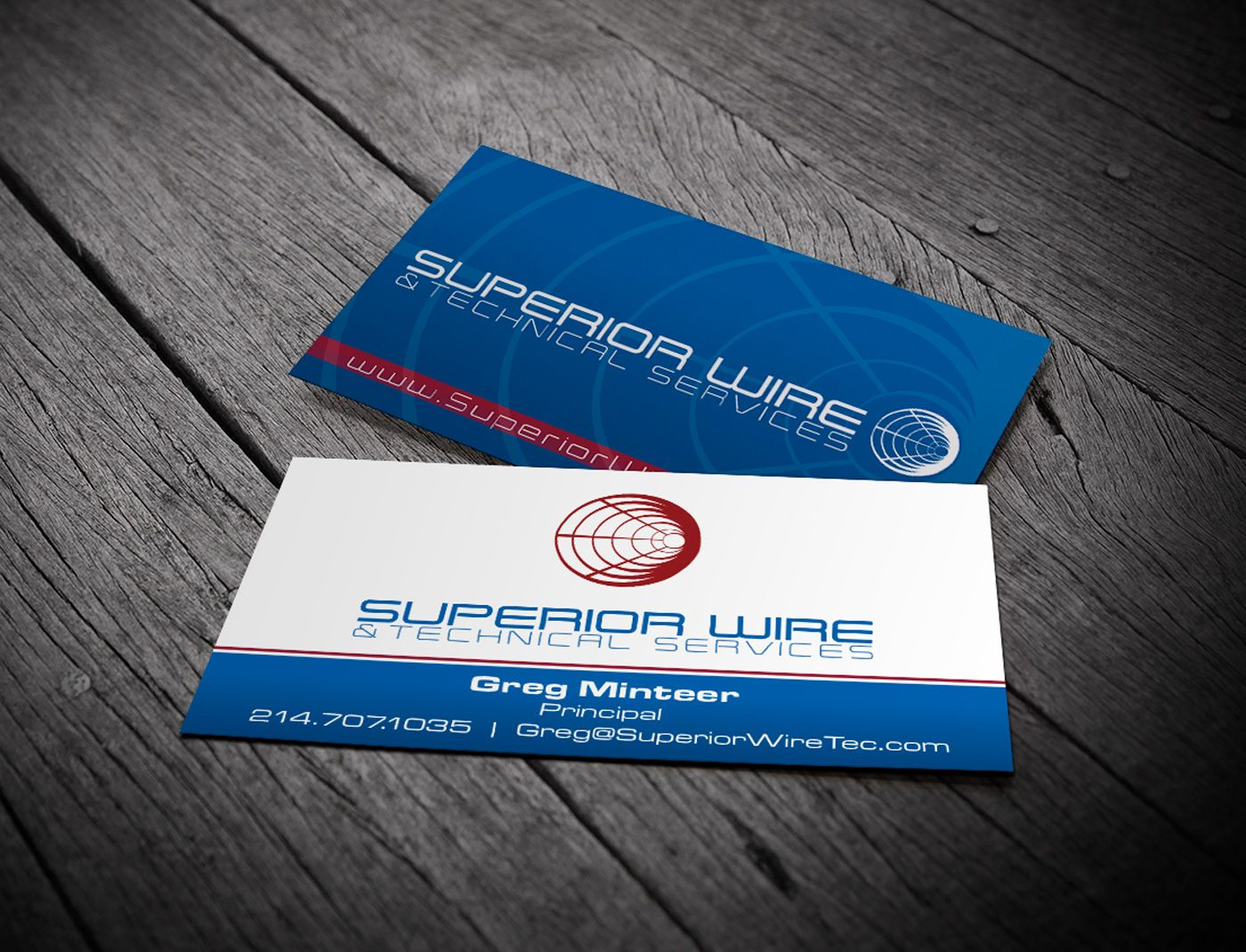 Superior Wire Business Card