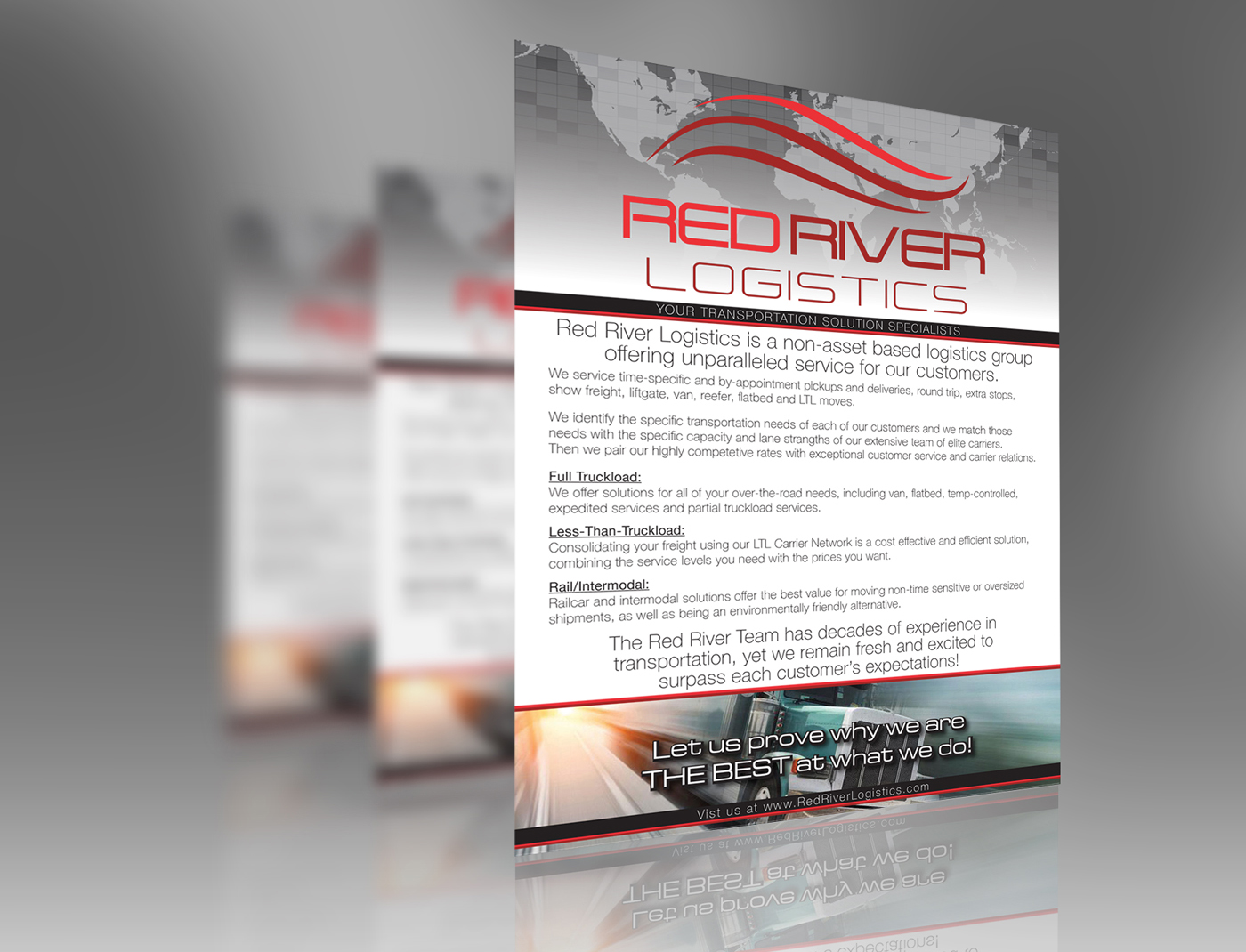 Red River Logistics Flyer